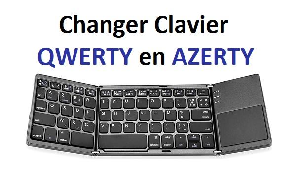 comment changer clavier qwerty en azerty sur windows 10. Black Bedroom Furniture Sets. Home Design Ideas