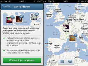 Compléter votre carte de photo sur instagram