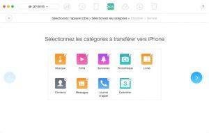 AnyTrans ios logiciel pour gérer, transférer et sauvegarder vos fichiers