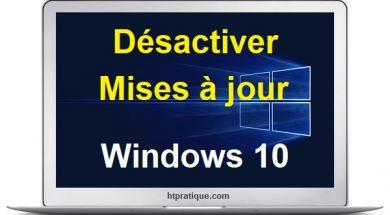 Comment désactiver les mises à jour Windows 10 définitivement désactiver mise à jour windows 10 empecher mise a jour windows 10 comment désactiver windows update