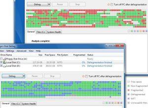 Disk Defragmenter logiciel défragmentation