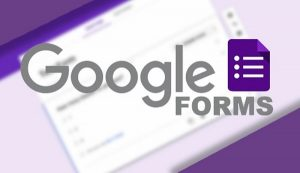 La fonction Google Drive Google Forms