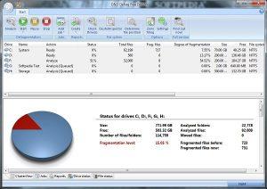 O & O Defrag Free Edition Les meilleurs logiciels de défragmentation de disque dur gratuit
