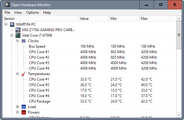 Top 18 des meilleurs logiciels pour surveiller les performances et la température d'un PC Open-Hardware-Monitor-logiciel-gratuit-pour-surveillance-des-capteurs-de-temp%C3%A9ratures-les-vitesses-de-ventilations-les-tensions