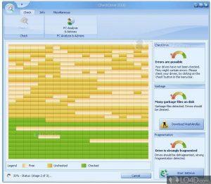 CheckDrive logiciel pour identifier les erreurs