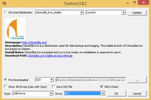 Clonezilla logiciels gratuits de réparation de disque dur