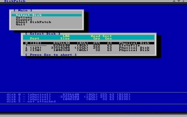 DiskPatch Les meilleurs logiciels gratuits de réparation de disque dur