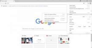 Gestionnaire de favoris sur Chrome