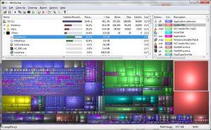 WinDirStat Les meilleurs logiciels gratuits de réparation de disque dur