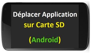 comment deplacer les applications sur carte sd comment transferer application android vers carte sd comment déplacer application sur carte sd android 6