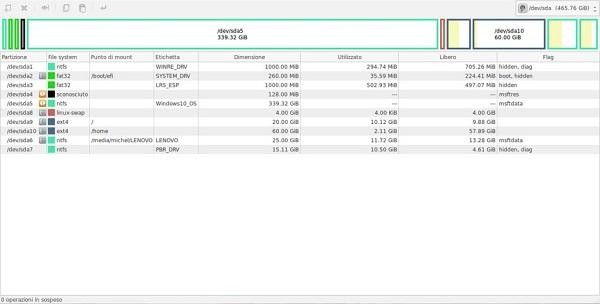 gparted logiciels gratuits de réparation de disque dur