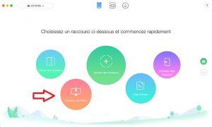 Comment transférer les données Android vers PC avec AnyTrans pour Android Étape3