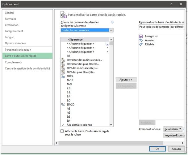 Les étapes fusionner deux fichiers sur Excel