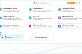 Choisir l'option Télécharger des Apps dans AnyTrans pour iOS