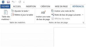 Comment ajouter des notes de bas de page dans Word