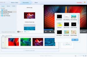 L'ajout d'introduction Fotophire Slideshow Maker