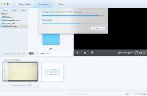 Personnalisation et ajout Fotophire Slideshow Maker