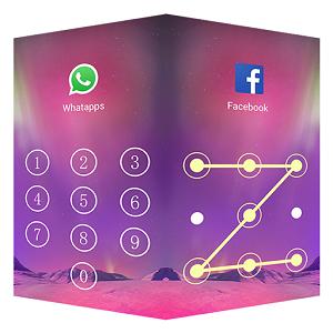 Applock Aurora verrouillage application