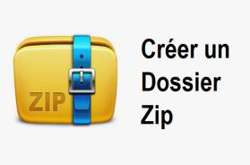 Comment créer un dossier zip