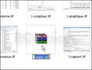 Comment créer un dossier zip Capture 2