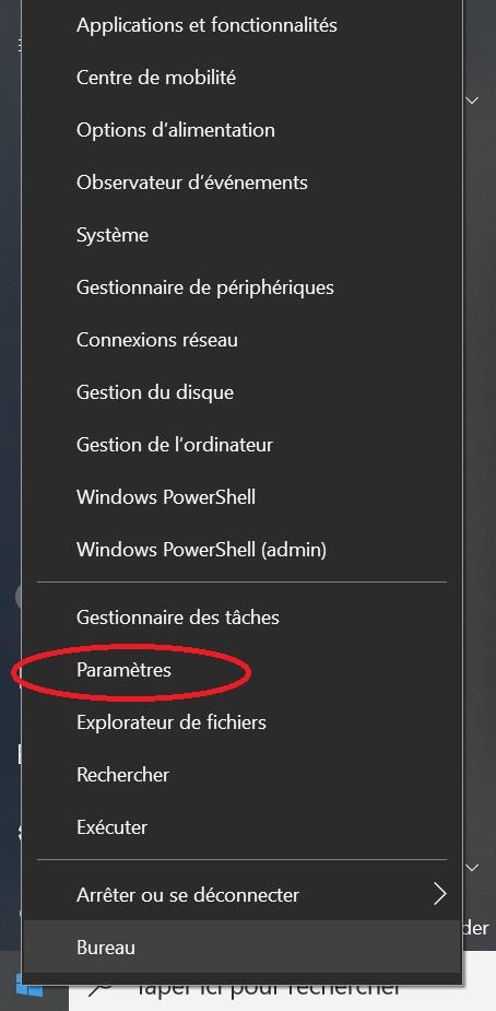 Comment supprimer ou désinstaller un programme sur Windows 10 Etape 2
