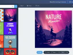 Crello un outil gratuit pour créer des visuels graphiques professionnels