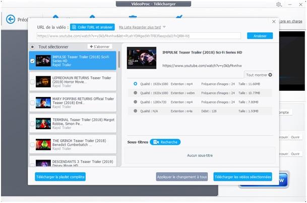 Faites des enregistrements des vidéos de 1000 sites environ avec Video Downloader