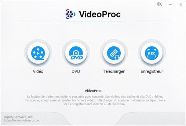 Les fonctionnalités et avantages du logiciel VideoProc