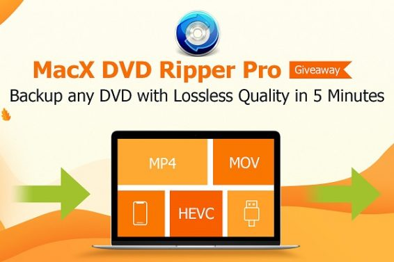 Black Friday Gagnez 500 licences de MacX DVD Ripper Pro
