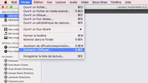 Comment convertir des vidéos en MP3 avec VLC sous Mac 1