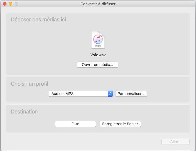 Comment convertir des vidéos en MP3 avec VLC sous Mac 3