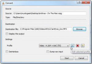 Comment convertir des vidéos en MP3 avec VLC sous Windows 3