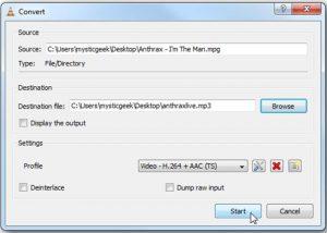 Comment convertir des vidéos en MP3 avec VLC sous Windows 6