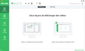 Comment convertir une vidéo sur YouTube en MP3 avec iTube HD video download 1