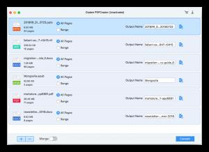 Cisdem PDFCreator pour Mac logiciels pour convertir un fichier en PDF