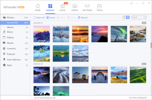 IOTransfer 3 Easy Photo Manager pour conserver vos moments inoubliables