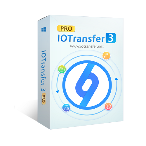 IOTransfer3 transferts de données entre PC iPhone iPad