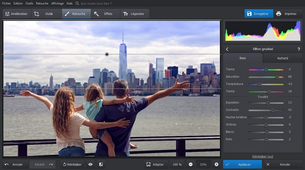 PhotoWorks Créer de magnifiques paysages