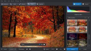 PhotoWorks Utiliser les nombreux d'effets disponibles