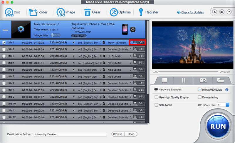 Copier et digitaliser vos DVD avec MacX DVD Ripper Pro 3