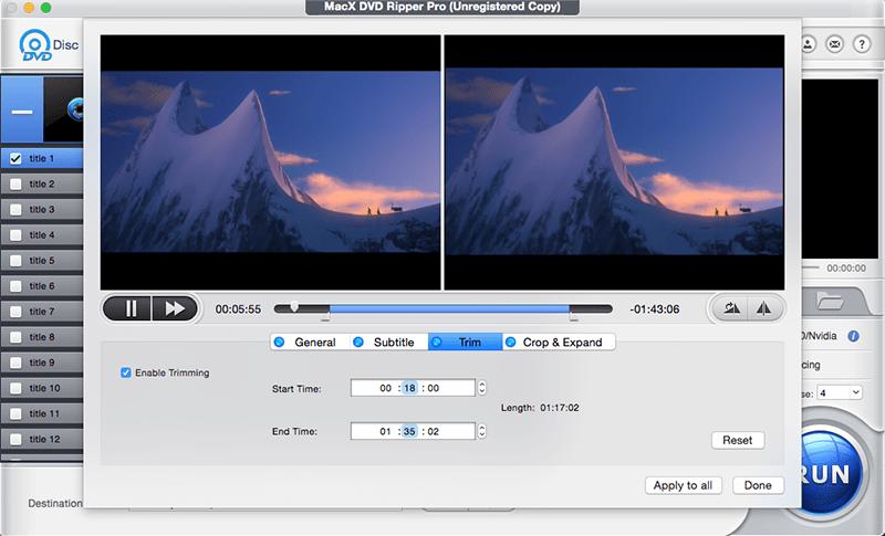Copier et digitaliser vos DVD avec MacX DVD Ripper Pro 4