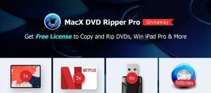 Gagner licence de MacX DVD Ripper Pro
