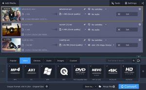 Une brève présentation de Movavi Video Converter
