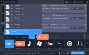 convertir vos fichiers vidéoM4A vers MP3 avec Movavi Video Converter