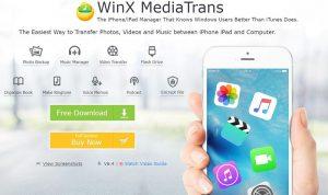 téléchargement et l'installation de WinX MediaTrans