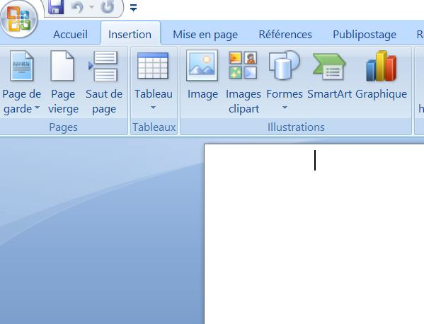créer une page de garde sur Word Simple et facile dans Word 2007 ou 2010