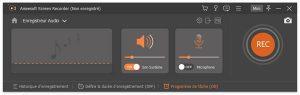 Comment capturer de l'audio avec Aiseesoft Screen Recorder (2)