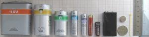 Types, durée de vie et l'usure des batteries