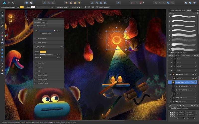 Top 8 des meilleures alternatives pour Adobe illustrator Affinity-Designer-illustrator-alternatives