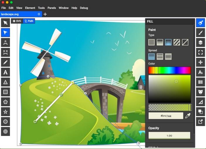Top 8 des meilleures alternatives pour Adobe illustrator Boxy-SVG-alternative-pour-illustrator